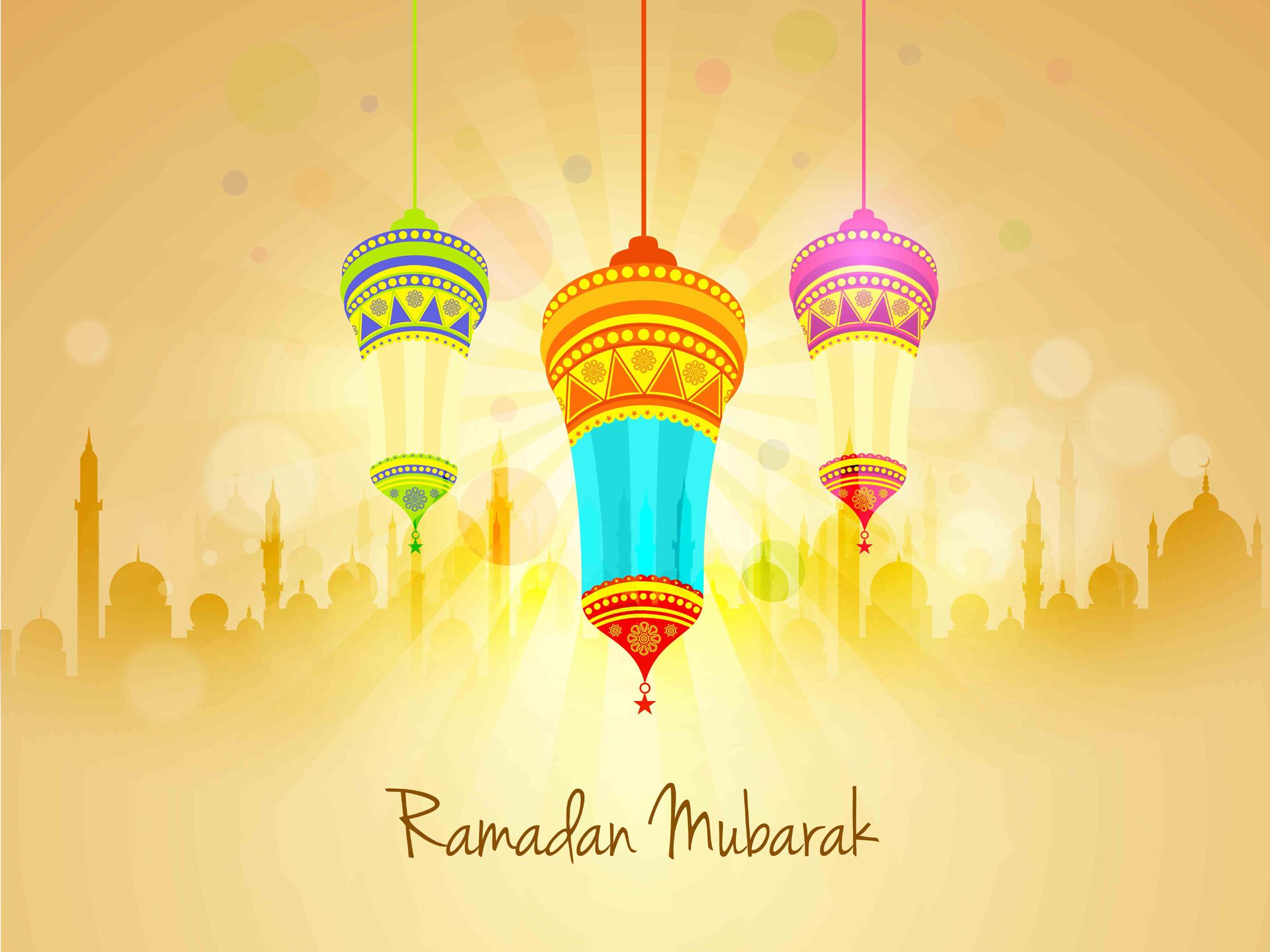 ... ramadan mubarak fanoos wallpaper ...